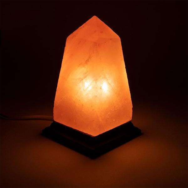 Bilde av Saltkrystall Lampe Obelisk