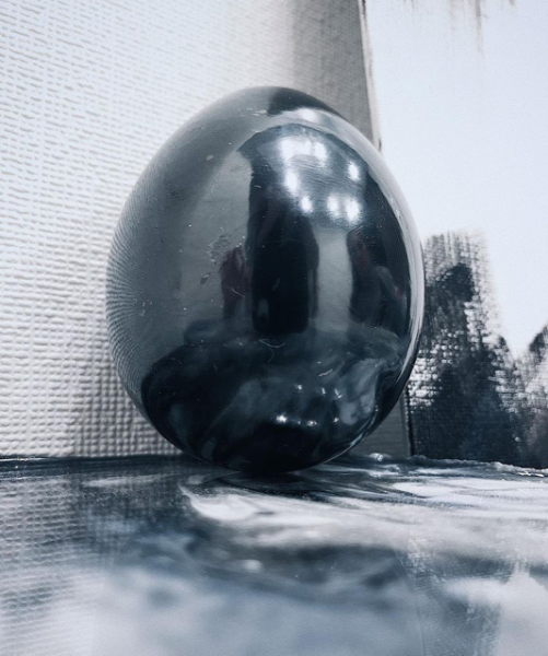 Bilde av Shungitt Egg 5cm