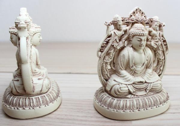 Bilde av Lille dobbelt-sidet Buddha