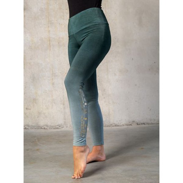 Bilde av Yoga-Leggings long green