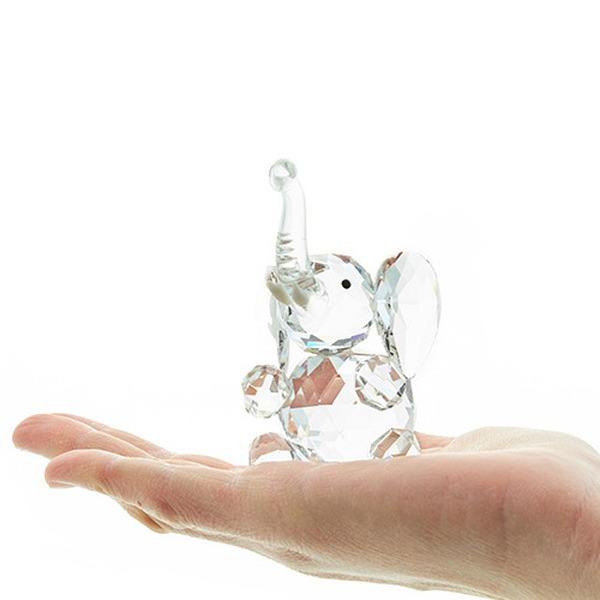 Bilde av Sittende Elefant Krystall