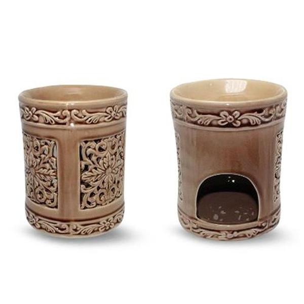 Bilde av Mandala Keramisk Aromabrenner