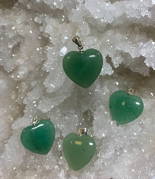 Bilde av Aventurin, Grønn Hjerte 2cm