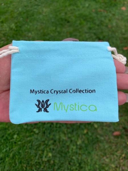 Bilde av Krystall Bag Turkis 10x7,5cm