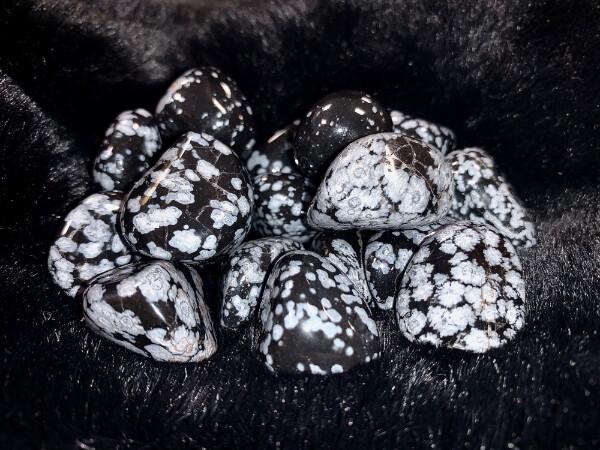 Bilde av Obsidian Snøfnugg