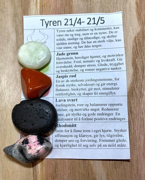 Bilde av Tyren Stenene