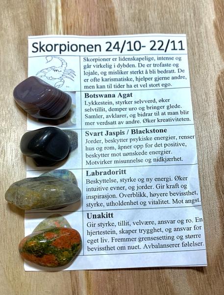 Bilde av Skorpionen Stenene