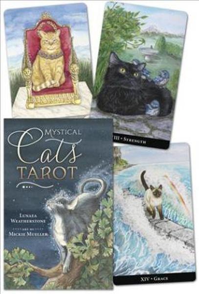 Bilde av Mystical Cats Tarot
