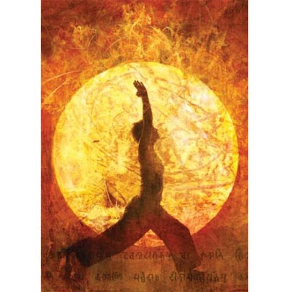 Bilde av Postkort Yoga