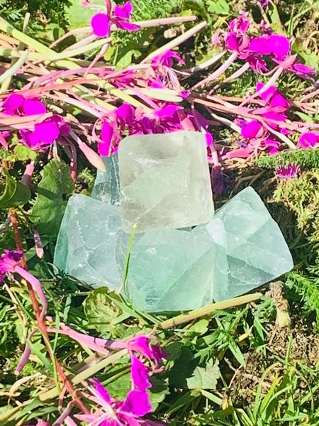 Bilde av Fluoritt Grønn Oktaeder 20mm