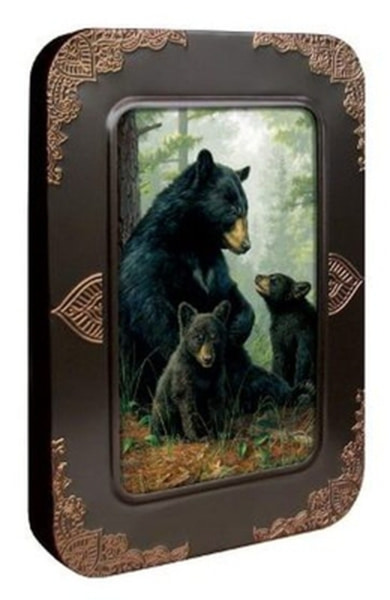 Bilde av Bear Family Embossed Eco Tin