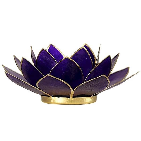 Bilde av Lotus Lys Violet Chakra 7