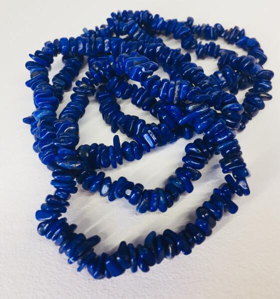 Bilde av Armbånd, Lapis Lazuli Chips