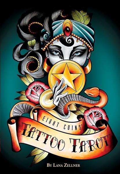 Bilde av Eight Coins Tattoo Tarot