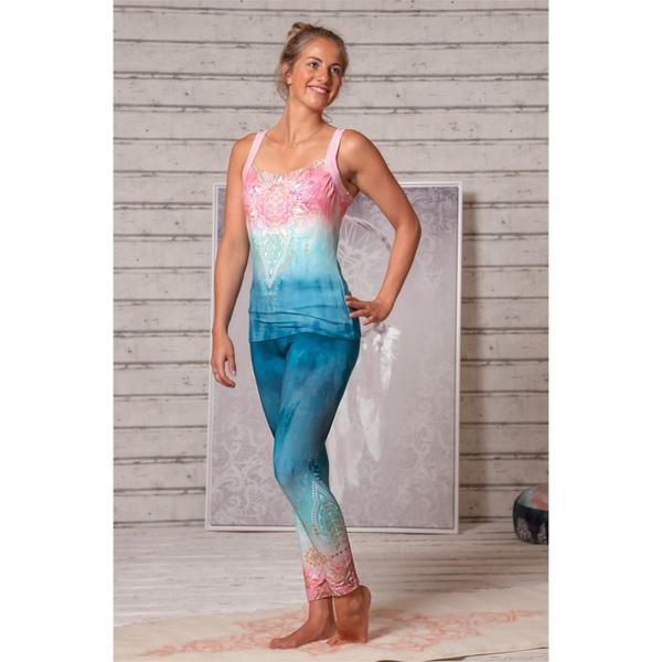 Bilde av Yoga Leggings Indigo/Peach