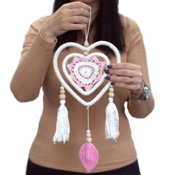 Bilde av Drømmefanger Pink Heart in