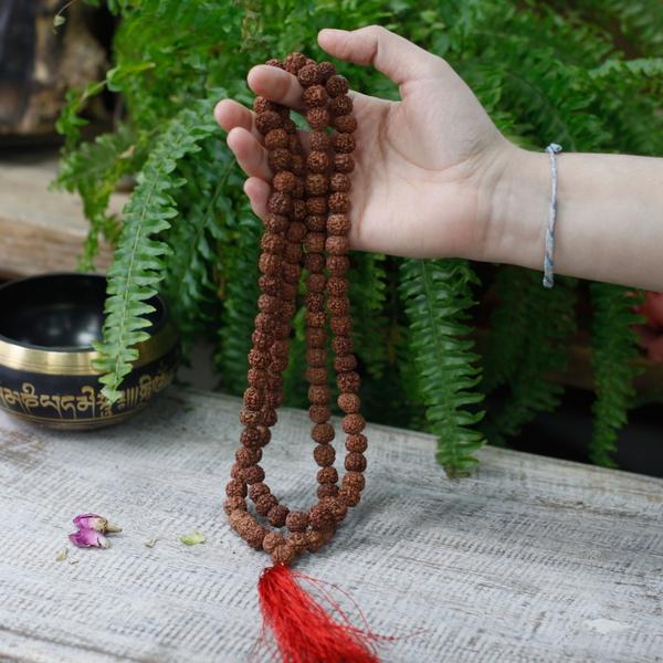 Bilde av Rudraksha Mala 108 perler