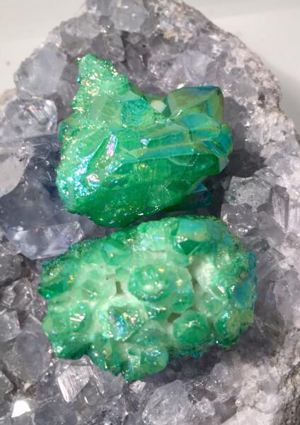 Bilde av Aurakrystall Grønn