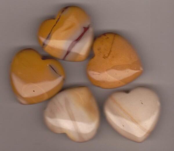 Bilde av Mokait Hjerte 3cm