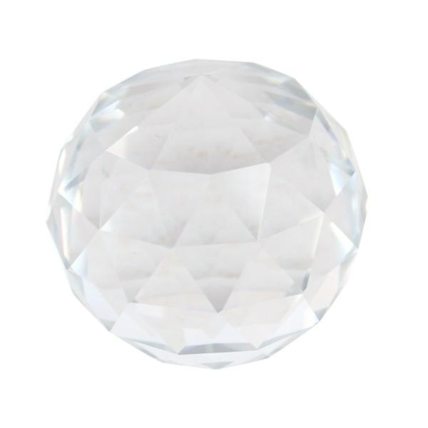 Bilde av  Krystall fasettert 4cm