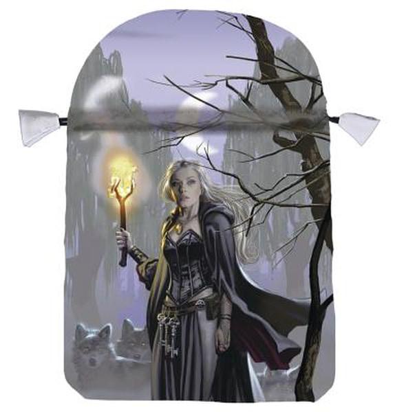 Bilde av Witches Moon Satin Tarot Bag