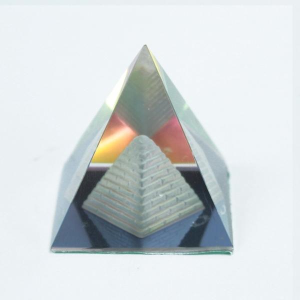 Bilde av Mystic Pyramide Dobbel 5cm