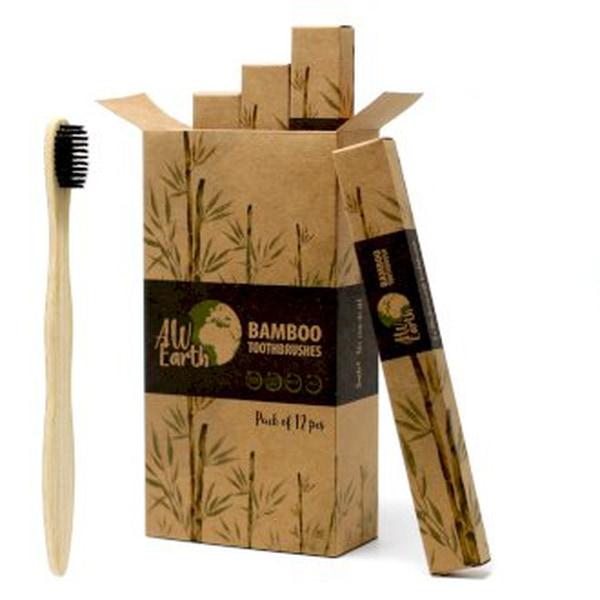 Bilde av Bambus Tannbørste medium soft