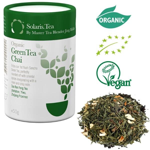 Bilde av Solaris Organic Green Tea