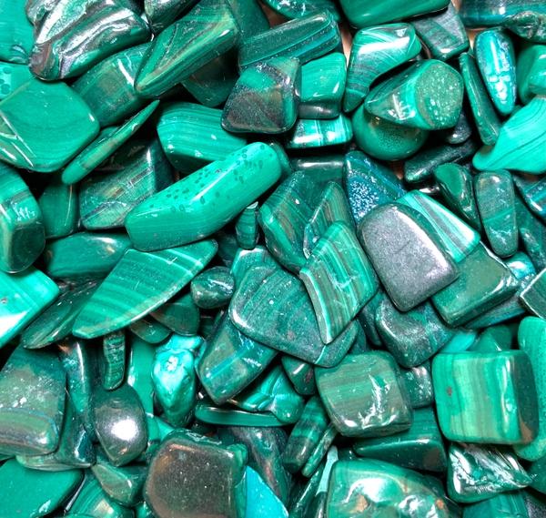 Bilde av Malakitt Chips stein