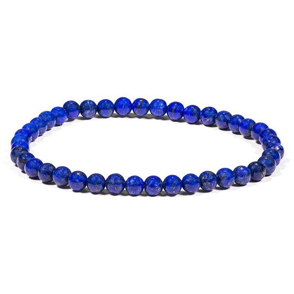 Bilde av Armbånd, Lapis Lazuli 4mm