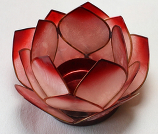 Bilde av Lotus Lys Rød Natur