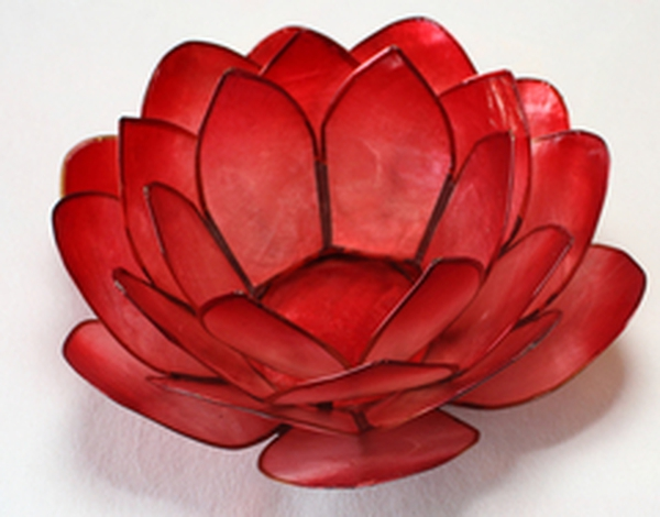 Bilde av Lotus Lys Rød