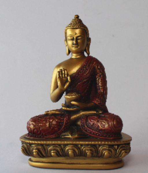 Bilde av Buddha no fear 13cm