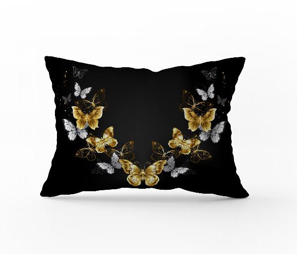 Bilde av Örngott Butterfly Black 70x100