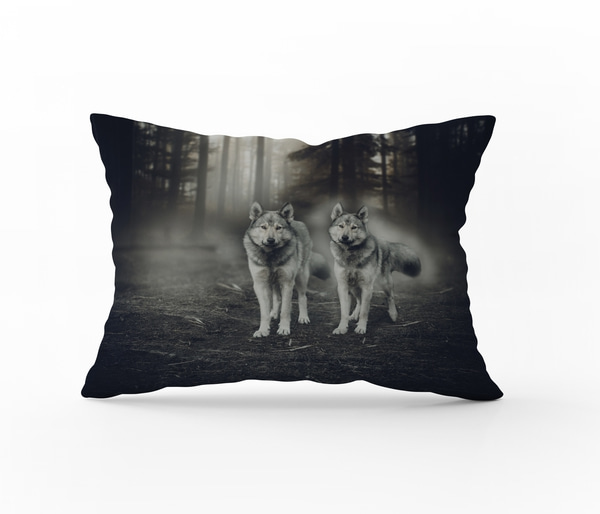 Bilde av Örngott Shadow Wolves 70x100