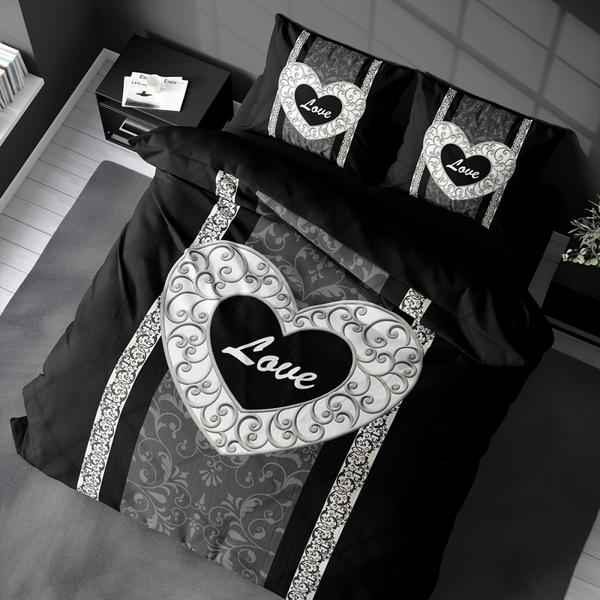 Bilde av Påslakanset Love Black