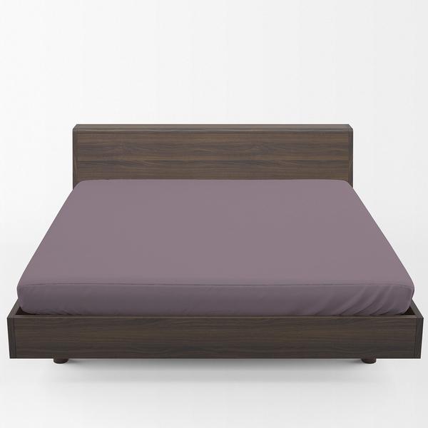 Bilde av Dra-på-lakan Solid Color Lilac 160x200