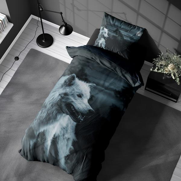 Bilde av Påslakanset Dark Wolf