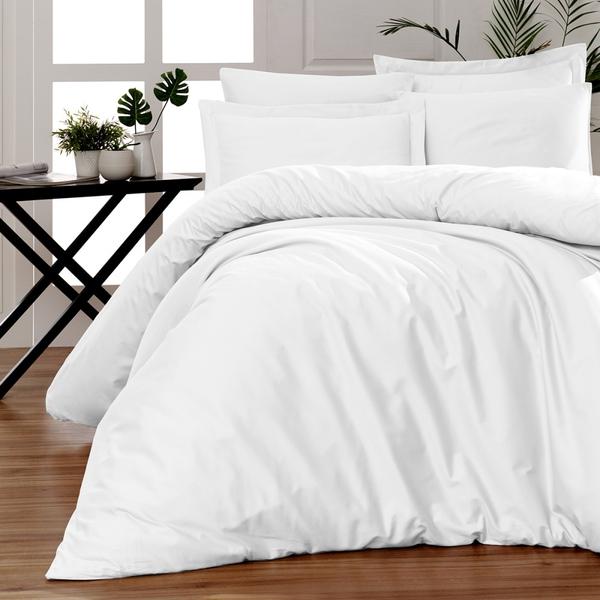 Bilde av Påslakanset Solid Color White