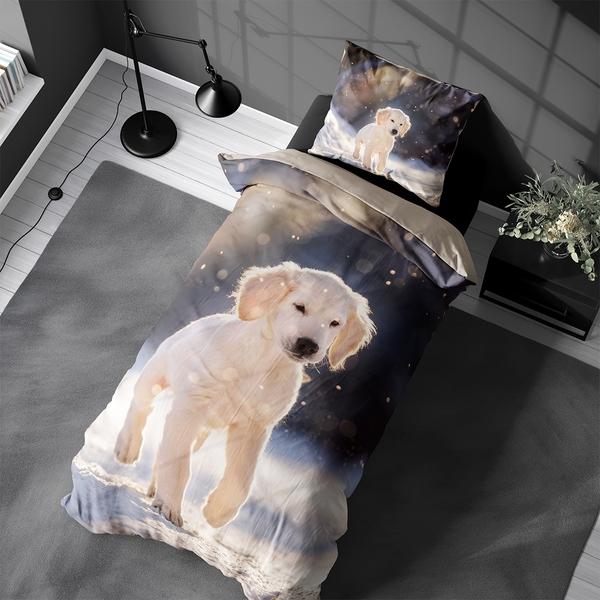 Bilde av Påslakanset Golden Puppy