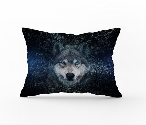 Bilde av Örngott Wolf Blue 70x100