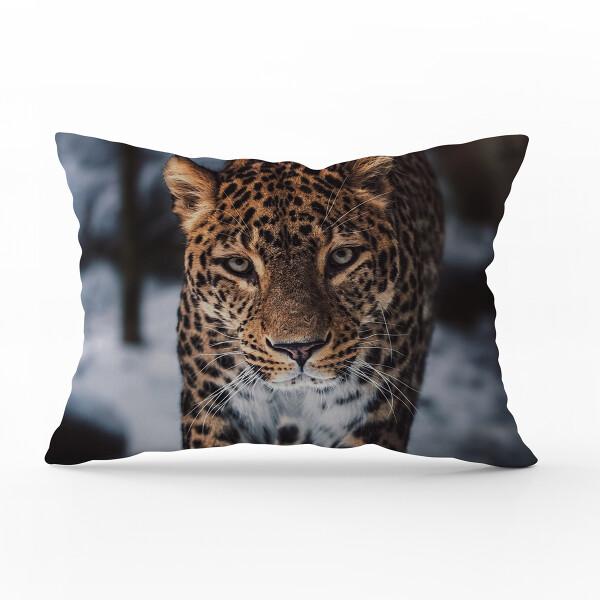 Bilde av Örngott Winter Leopard 70x100