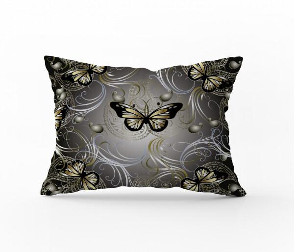 Bilde av Örngott Butterfly Gold 70x100
