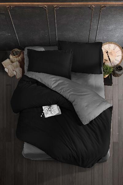 Bilde av Påslakanset Milano. Black-Grey