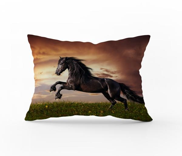 Bilde av Putetrekk Brown Stallion 50x70