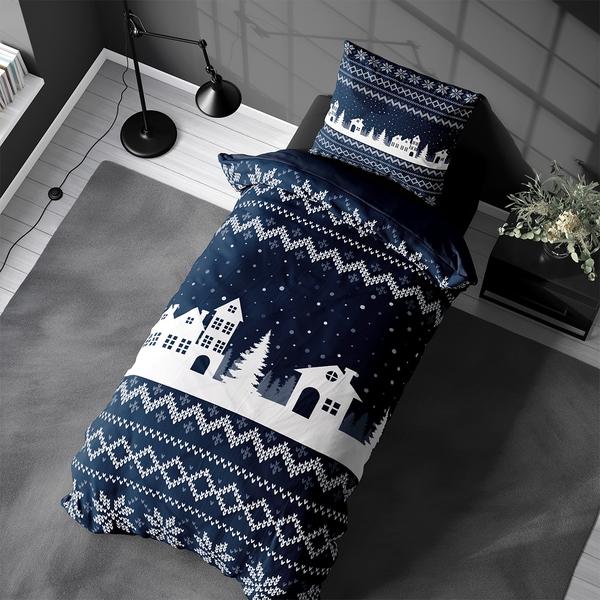 Bilde av Sengesett Knitted Home Flanell