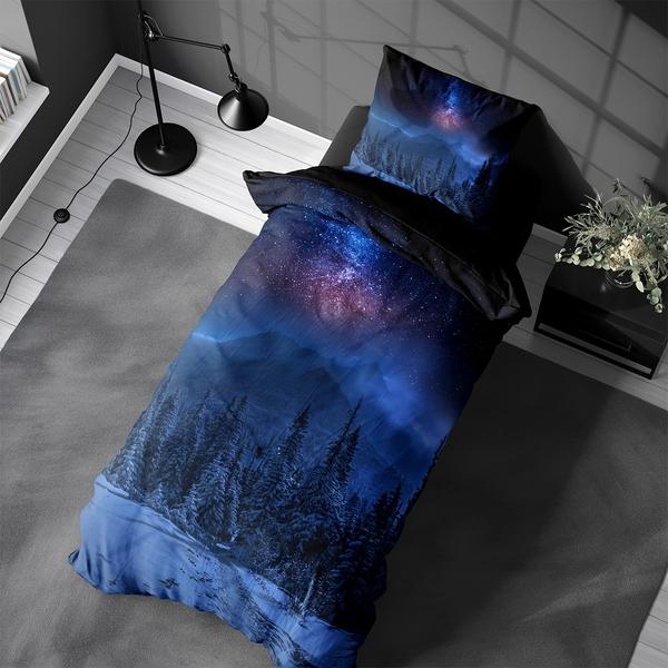 Bilde av Sengesett Starry Night Flanell