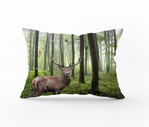 Bilde av Putetrekk Deer Nature Flanell 70x100