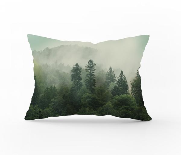 Bilde av Putetrekk Forest Green Flanell 70x100