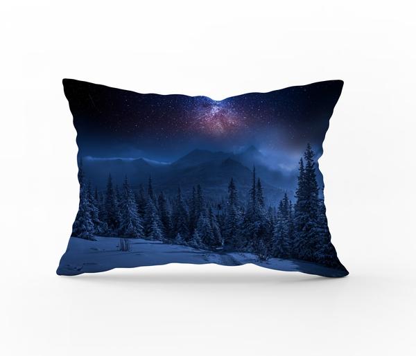 Bilde av Putetrekk Starry Night Flanell 70x100